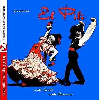 El Pili - importation USA Cante Hondo-Cante Flamenco [CD]