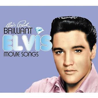 Elvis Presley - genialt Elvis: Movis Songs [CD] USA import