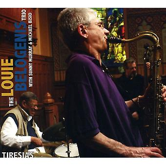 Louie Belogenis Trio - Teiresias [CD] USA import