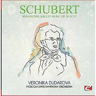 Schubert - Rosamunde Ballet musik Op. 26 D.797 [CD] USA import