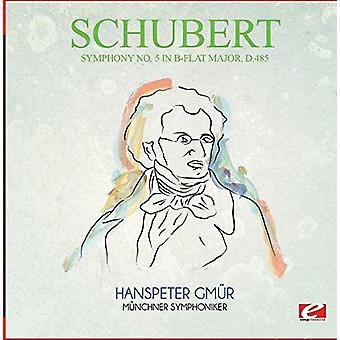 Schubert - Symfoni nr 5 B-Flat stora D.485 [CD] USA import