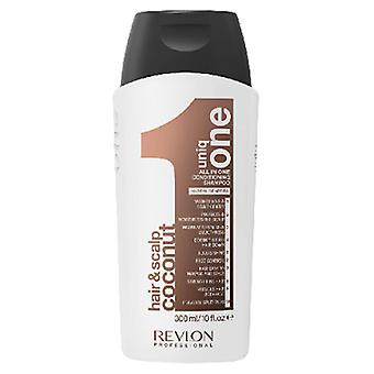 Revlon Coconut Scalp Hair Uniq One All In One Conditioning Shampoo 10