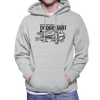 Haynes Owners Workshop Manual Dodge Dart Black mannen Hooded Sweatshirt