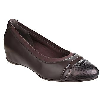 Rockport Womens Total Motion Esha Evan Layer Slip sur Wedge Pump