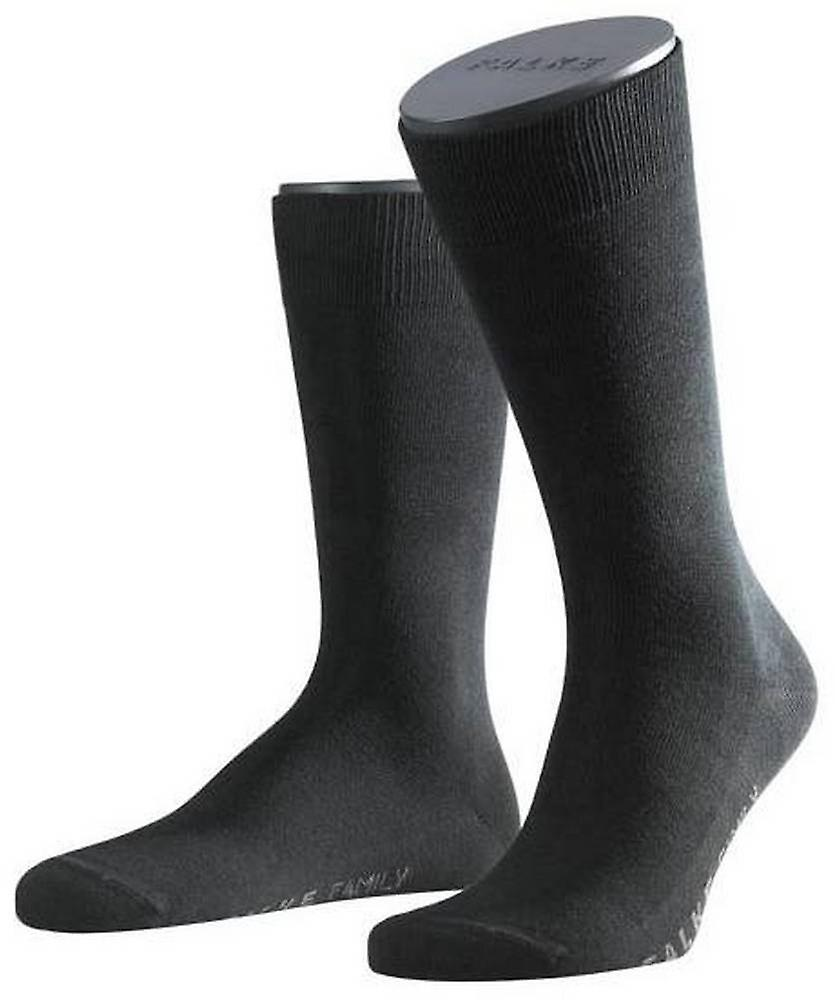 Falke Cotton Family Socks - Black