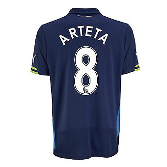 2014-15 Arsenal Third Cup Shirt (Arteta 8)