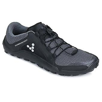 Vivobarefoot Primus Trail Firm Ground Mens Shoes Black/Charcoal