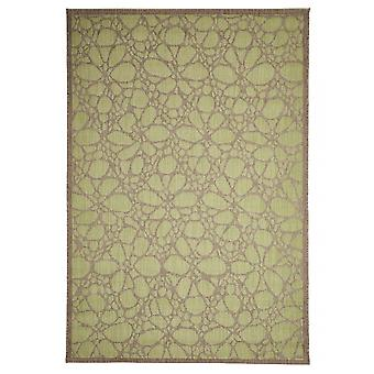 Outdoor carpet for Terrace / balcony green Contemporary Fiore Green 160 / 230 cm carpet indoor / outdoor - for indoors and outdoors