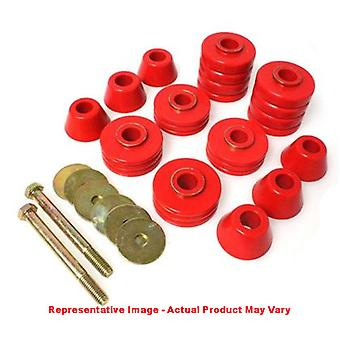 Energy Suspension Body Mount Set 8.4110R Red Fits:TOYOTA  1996 - 2002 4RUNNER