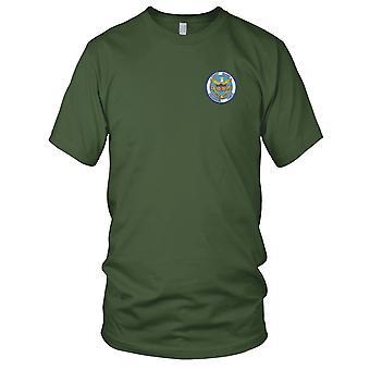US Coast Guard USCG - CGRON-3 Squadron Three 1967-1971 Vietnam Embroidered Patch - Vietnam Mens T Shirt