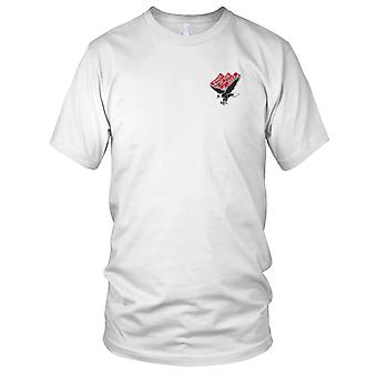 US Army - 101st Aviation Division Embroidered Patch - Mens T Shirt