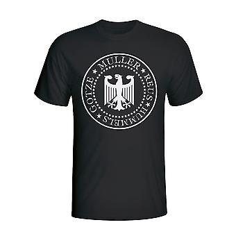 T-shirt presidenziale Germania (nero) - bambini