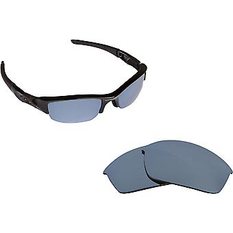 Best SEEK Replacement Lenses for Oakley Sunglasses FLAK JACKET Silver Mirror
