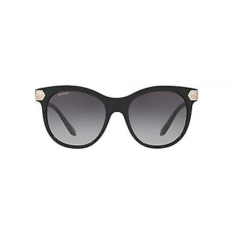 Bvlgari Diamante Hinge Detail Sunglasses In Black