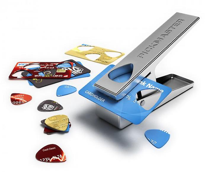 PickMaster Plectro Cutter - Free Guitar Picks for Life!