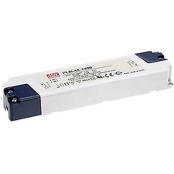LED driver Constant current Mean Well PLM-40-1050 39 W (max)