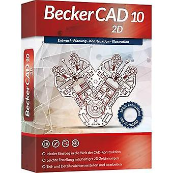 Markt & Technik Becker CAD 10 2D Full version, 1 license Windows CAD