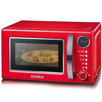 Severin Microwave Retro Grill Red