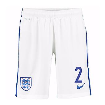 2016-17 England Home Shorts (2) - Kids
