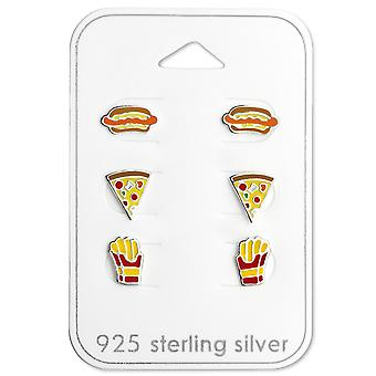 Food Lovers - 925 argent Sterling Sets - W29117X