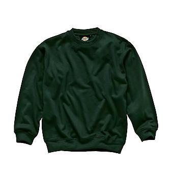 Dickies Mens Workwear Sweatshirt Bottle Green SH11125B