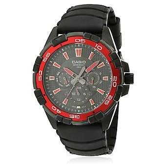 Casio zwart hars Mens Watch MTD1069B-1A2