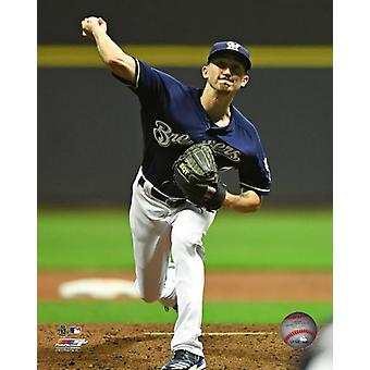 Zach Davies 2017 Action Photo Print
