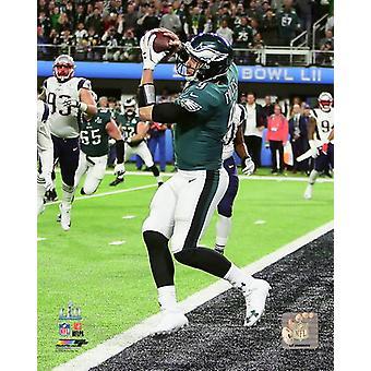 Nick Foles Touchdown Catch Super Bowl LII Photo Print
