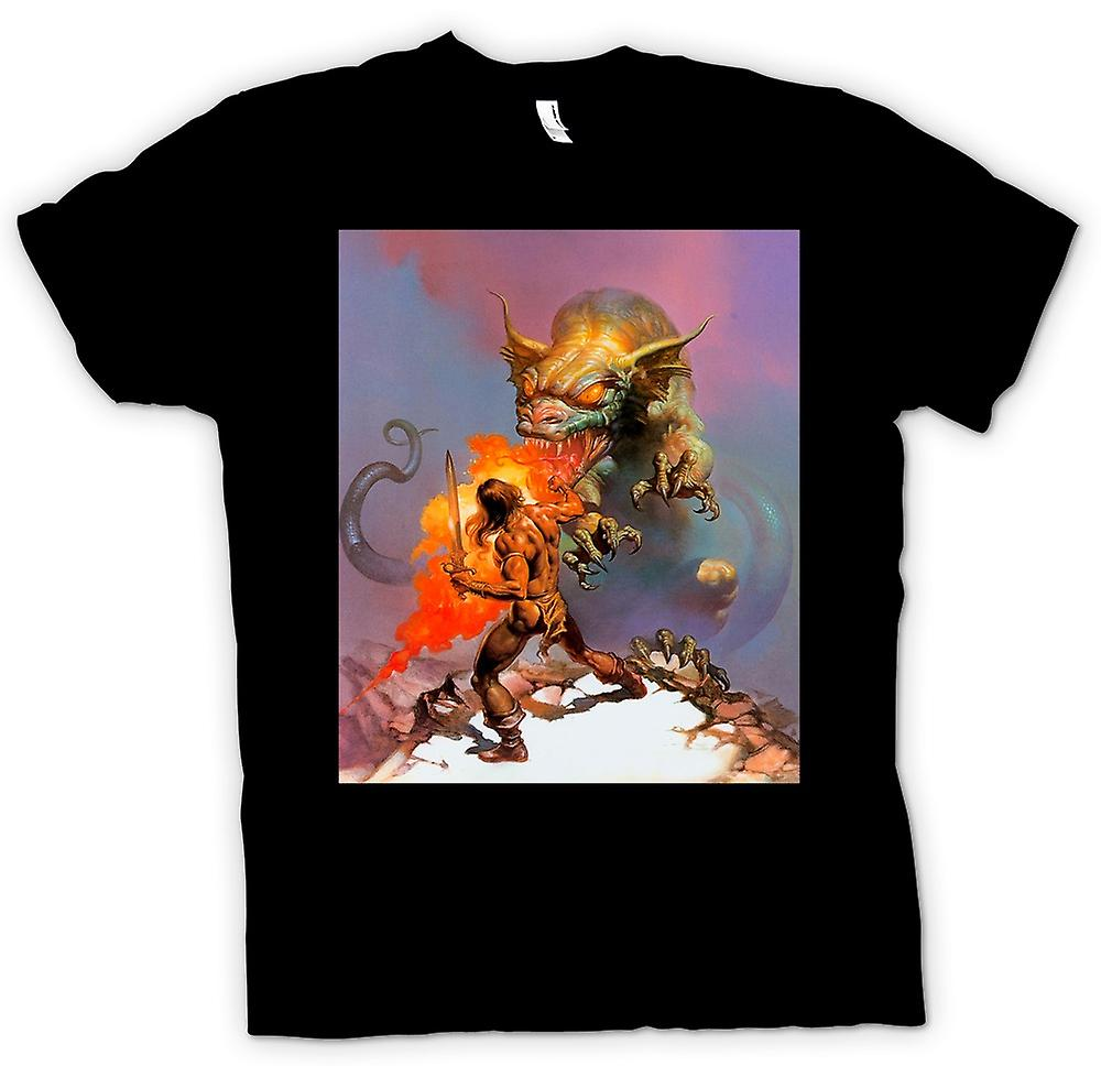 Mens t-shirt - Dragon Slayer - Fantasy