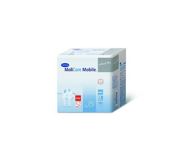 Molicare Mobile Small - Unisex Pull-up Pants For Severe Incontinence - Pack Of 14
