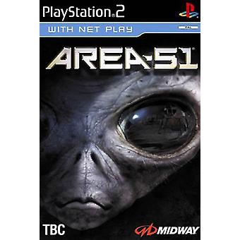 Area 51 (PS2) - Factory Sealed
