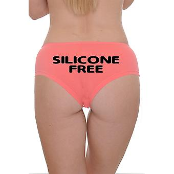 Women's Booty Boy Shorts Silicone Free, Hot Pants
