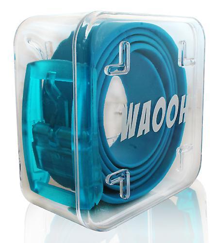 Waooh - belt plastic Waooh Turquoise