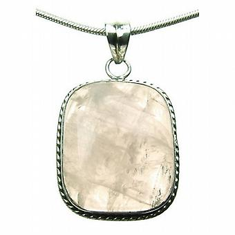 Misty Rose Quartz Zilver 925