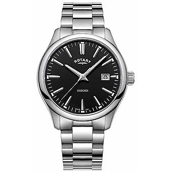 Rotary Mens Oxford Stainless Steel Bracelet GB05092/04 Watch