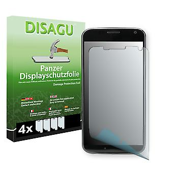 Motorola XT1056 screen protector - Disagu tank protector protector (deliberately smaller than the display, as this is arched)