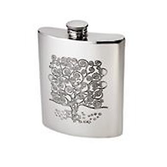 6oz Tree of Life Kidney Flask*