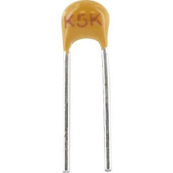 Ceramic capacitor Radial lead 470 pF 100 V 5 %