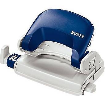 Leitz 5058-00-35 Office punch Blue (W x H x D) 137 x 68 x 69 mm