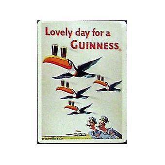 Guinness vuelo tucanes Metal imán de nevera
