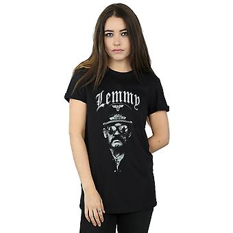 Motorhead Women's Lemmy Sunglasses Boyfriend Fit T-Shirt