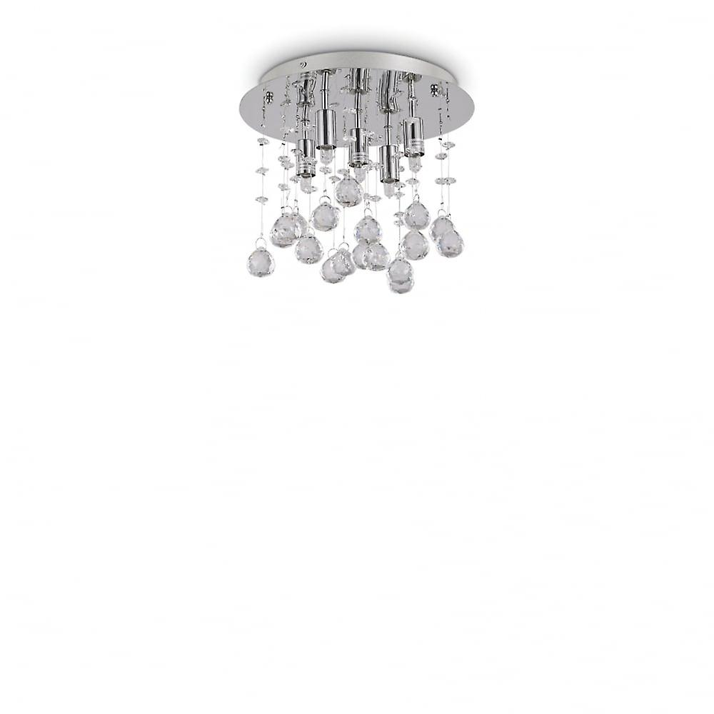 Ideal Lux Moonlight Pl5 Chrome