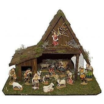 Crib GALILEE wooden Manger Nativity Christmas Nativity stable