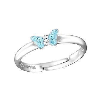 Small Butterfly - 925 Sterling Silver Rings - W23475X