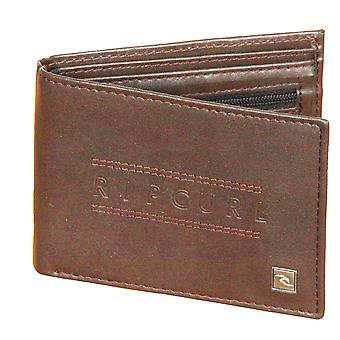 Rip Curl Wallet With CC, Note and Coin Sections ~ Classic All Day brown