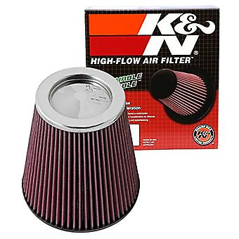 K & N RF-1044XD Universal Clamp-On Air Filter: Runde tilspidsede; 6 i (152 mm) Flange ID; 8 i (203 mm) højde; 7.5 i (191 m