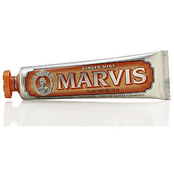 Marvis Ginger Mint Zahncreme - 75ml