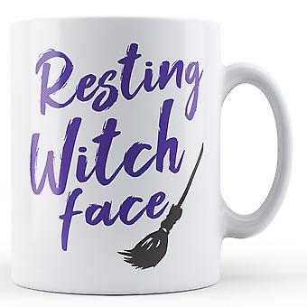 Resting Witch face - Printed Mug