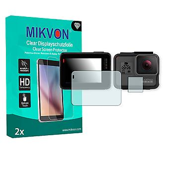 GoPro Hero 5 Screen Protector - Mikvon Clear (Retail Package with accessories)