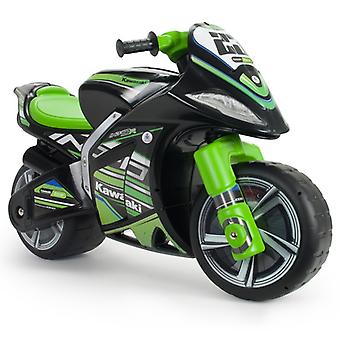 Injusa Kawasaki Winner Foot to Floor Motorbike Black/Green